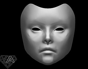 3D print model Geisha mask