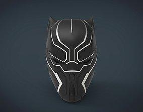 Black Panther Helmet - stl files for 3d printing
