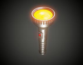 Retro Torch - Tutorial Included 3D model