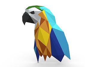 3D print model parrot figure