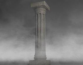 historical Column 3D model