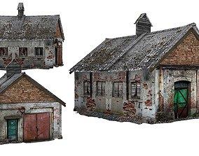 Old house Kolkhoz 01 01 3D model