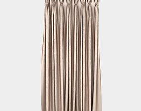 3D Pinch Pleat Curtain