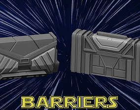Barriers 3D printable model