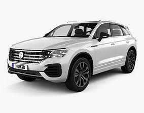 3D model Volkswagen Touareg R-Line 2018