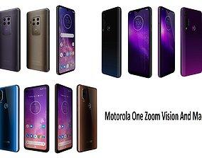 3D model Motorola One Zoom Vision And Macro