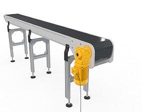 Conveyor Belt for Factory 3D model