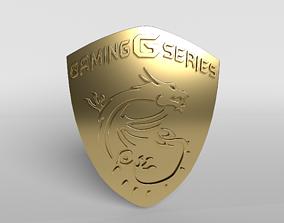MSI Logo 02 - 4K Texture 3D