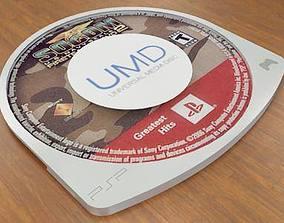 3D model Universal Media Disc