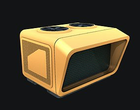 Sci-fi Air Condition 3D model