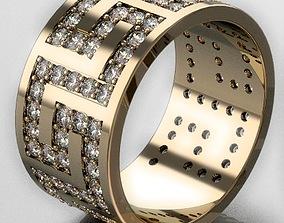 Ring Egyptian pattern 3D printable model