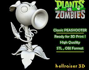 Plants vs Zombies - Classic Peashooter 3D printable model