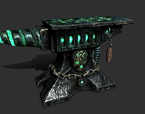 3D asset Anvil of the undead