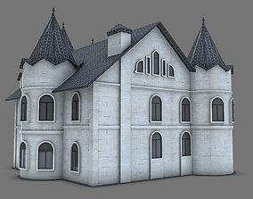 house romanesque 3D model House