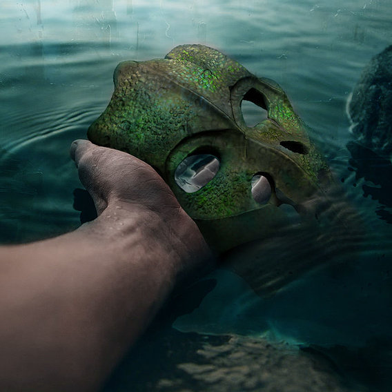 Ancient mask