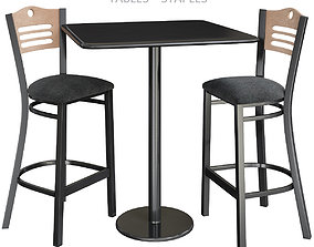 realtime Flash Furniture Hospitality Cafeteria Tables - 2