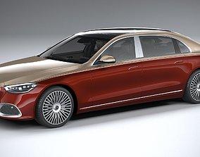 Mercedes-Benz S-Class Maybach 2021 3D model