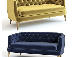 3D West Elm - Lola Sofa