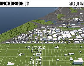 Anchorage USA 3D