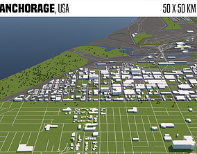 Anchorage USA 3D model
