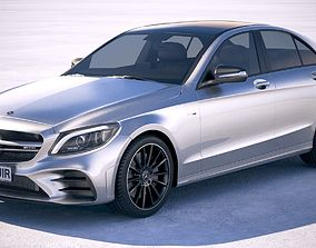 Mercedes C43 AMG 4matic 2019 3D