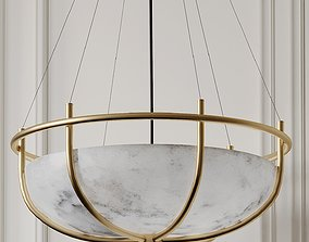 3D PARACHUTE GLASS DOME CHANDELIER CB2 Exclusive