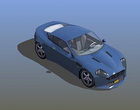 Sports Coupe 3D asset