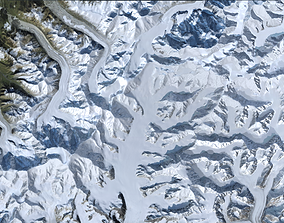 VR / AR ready Denali Mount McKinley mountain Alaska 3d