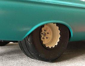 3D printable model MT 305 Drag Radials 28x15 rear tires