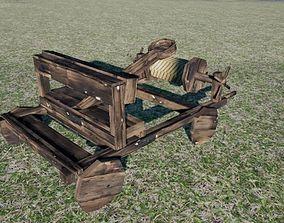 Catapult 3D model VR / AR ready
