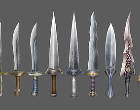 weapon knife 3D model VR / AR ready