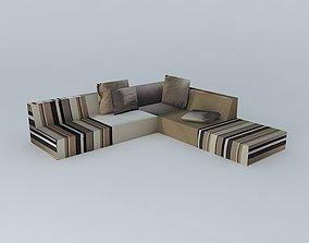 sofa MANHATTAN 3D model