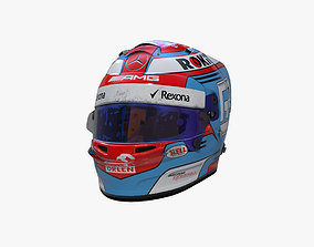 Russell helmet 2019 3D model