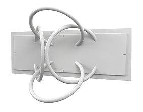 3D model Flos Wall Piercing Lamp