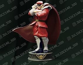 Street Fighter - M Bison Shadaloo dictator 3D print model