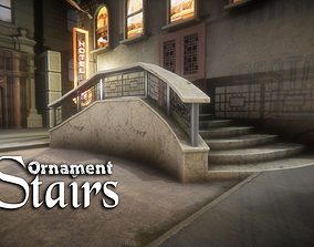 Ornament Stairs 3D model