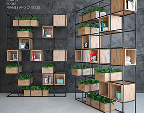 3D model Iron shelf