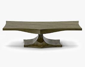 3D model Noir Furniture QS Hugan Coffee Table
