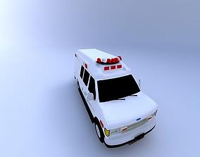 3D model Ambulance