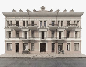 Facade background 3D model