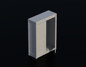 3D model Cupboard 01