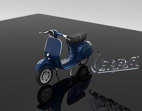 3D model Vespa
