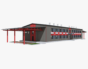 Administrative Building new 3D
