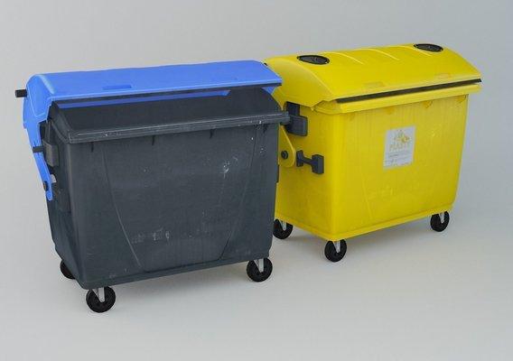 City plastic Dumpsters