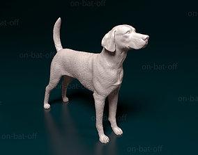 English foxhound 3D printable model
