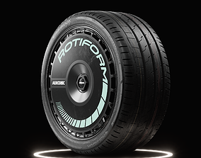 Hankook Ventus S1 EVO3 Tire Real World Details 3D
