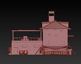3D print model Old house