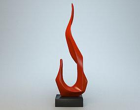 3D Sculpture Flame