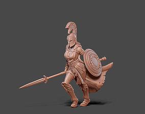 3D printable model Artemis - Greek godess 35 mm scale