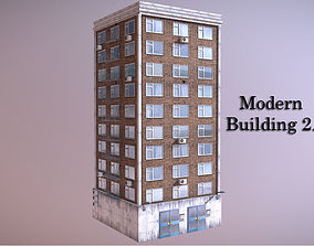 Modern Building 2 3D model